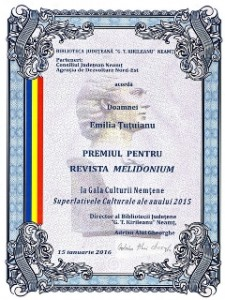 premiu Emilia Tutuianu